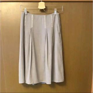 アマカ(AMACA)のAMACA スカート グレー アマカ 36 春夏(ひざ丈スカート)