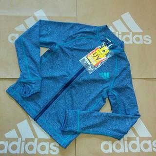 アディダス(adidas)の新品 100cm アディダス ジップアップ ラッシュガード ジュニア(水着)