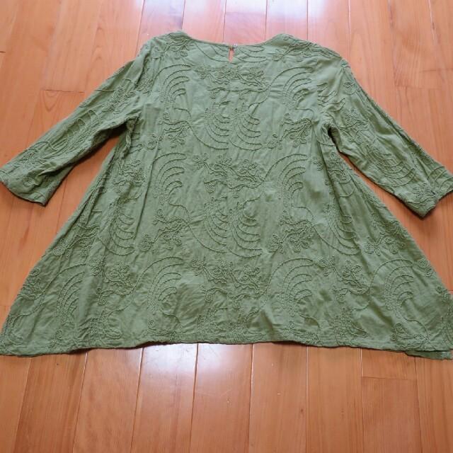しまむら(シマムラ)のAライン5部袖カツットソー レディースのトップス(カットソー(半袖/袖なし))の商品写真