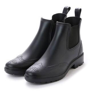 size:M メンズサイドゴアレインシューズ[ブラック]16033(長靴/レインシューズ)