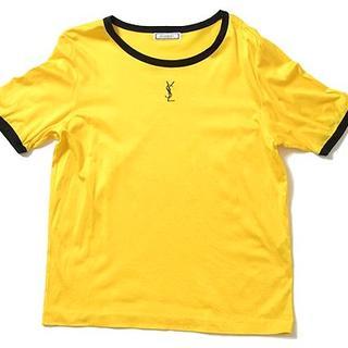 イヴサンローランボーテ(Yves Saint Laurent Beaute)の◇YSL◇sizeM vintage T-shirts tops/イヴサンローラン ヴィンテージ Tシャツ イエロ(Tシャツ(半袖/袖なし))