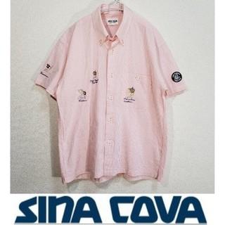 シナコバ(SINACOVA)の90s SINACOVA シナコバ 刺繍 半袖シャツ (シャツ)