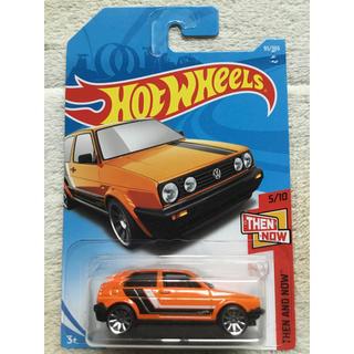 フォルクスワーゲン(Volkswagen)のHW ホットウィール フォルクスワーゲン  ゴルフ MK2 オレンジ GOLF(ミニカー)