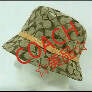 コーチ(COACH)の☆COACH☆帽子(ハット)