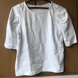ジーユー(GU)の7分丈 Tシャツ(Tシャツ(長袖/七分))