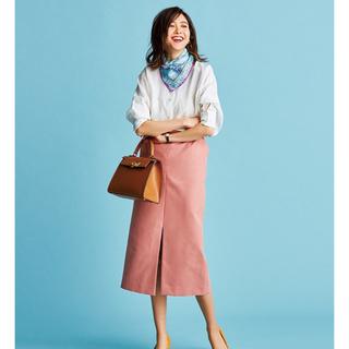 デミルクスビームス(Demi-Luxe BEAMS)のBAILA掲載 完売 ペンシルスカート(ひざ丈スカート)