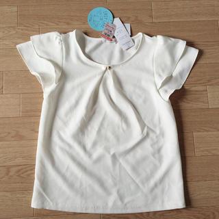 シマムラ(しまむら)の新品 タグ付き シフォントップス(シャツ/ブラウス(半袖/袖なし))