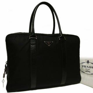 プラダ(PRADA)の正規 美品 定価18万上 プラダ 男女兼用 ブリーフケース ビジネス バッグ(ビジネスバッグ)