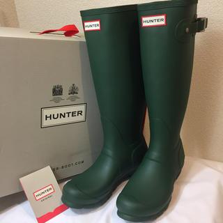 ハンター(HUNTER)の新品未使用タグ付★ハンター HUNTER オリジナル トール レインブーツ(レインブーツ/長靴)
