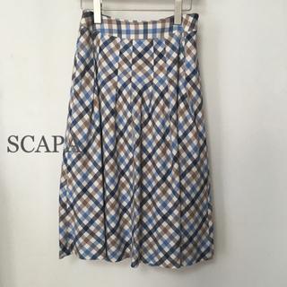 スキャパ(SCAPA)のスキャパ SCAPA スカート サイズ38 綿100%(ロングスカート)