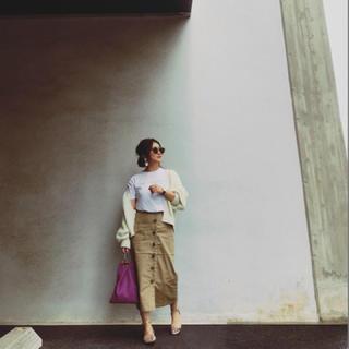 アリエス(aries)のラスト1着‼️aries mirage Highwest Skirt(ひざ丈スカート)