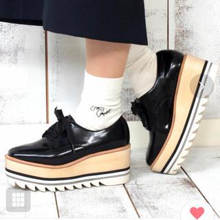 ジェフリーキャンベル(JEFFREY CAMPBELL)のジェフリーキャンベル シャークソール厚底(ローファー/革靴)