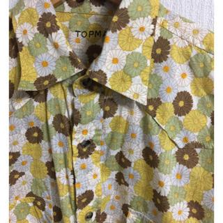 トップマン(TOPMAN)のTOPMAN花柄ウエスタンシャツ(シャツ)
