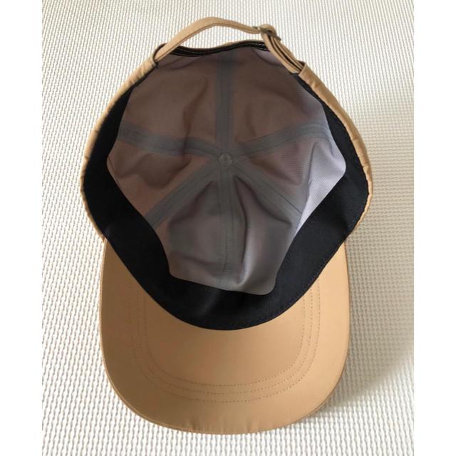 MUJI (無印良品)(ムジルシリョウヒン)の無印良品 キャップ キャメル レディースの帽子(キャップ)の商品写真