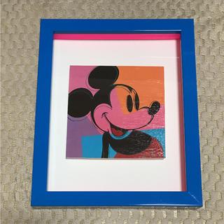 アンディウォーホル(Andy Warhol)のAndy Warhol アンディウォーホル アートフレーム ミッキーマウス(絵画/タペストリー)