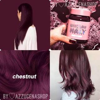 ライムクライム(Lime Crime)のLimecrime Unicorn Hair ♡̷ chestnut(カラーリング剤)