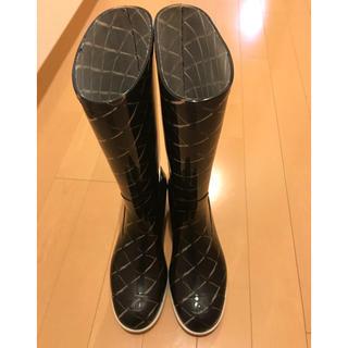 シャネル(CHANEL)のシャネル レインブーツ 最終値下げ(レインブーツ/長靴)