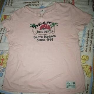 ドッグデプト(DOG DEPT)のドッグデプト ピンク系 L Tシャツ(Tシャツ(半袖/袖なし))