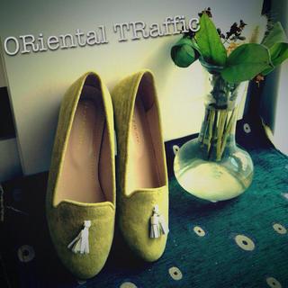 オリエンタルトラフィック(ORiental TRaffic)のオリエンタルトラフィックのオペラシューズ(ハイヒール/パンプス)