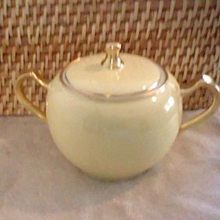 オオクラトウエン(大倉陶園)の未使用 色蒔き シュガーポット(食器)