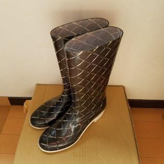 シャネル(CHANEL)のシャネルレインブーツ37(レインブーツ/長靴)