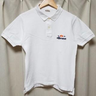エレッセ(ellesse)の90s ellesse シンプル 刺繍ロゴ ポロシャツ(ポロシャツ)