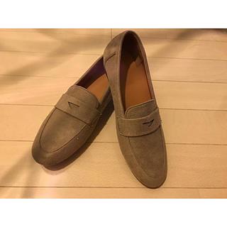 ジーユー(GU)のGU スエードタッチローファー 未使用(ローファー/革靴)