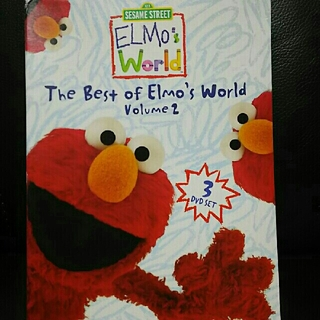 セサミ DVD 3枚セット The best of Elmo's World 2