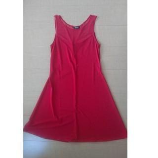 クーカイ(KOOKAI)のKOOKAI クーカイワンピースドレス 赤 サイズ32(ミニワンピース)