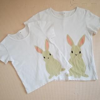 ムジルシリョウヒン(MUJI (無印良品))の破格☆姉妹セット(Tシャツ/カットソー)