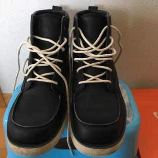 ナイキ(NIKE)のナイキブーツ黒(ブーツ)