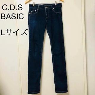 シーディーエスベーシック(C.D.S BASIC)のC.D.S BASIC レディース デニムパンツ  ジーンズ Lサイズ(デニム/ジーンズ)