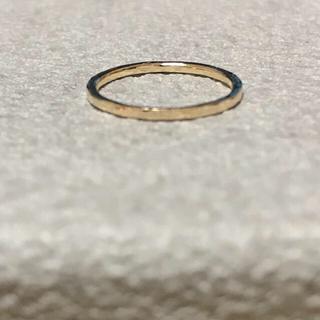 アガット(agete)のagete アガット K10 ピンキーリング(リング(指輪))