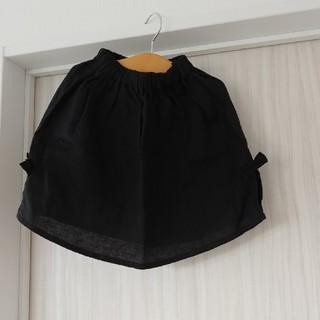 ムジルシリョウヒン(MUJI (無印良品))のリトアニアリネン100% キッズスカート(スカート)