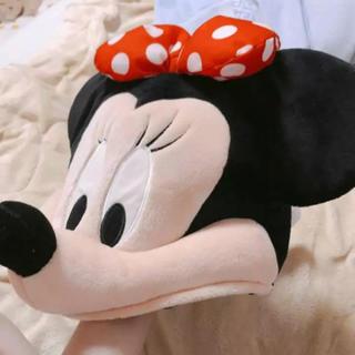 ディズニー(Disney)のディズニー 正規品 かぶりもの 胴体 ぬいぐるみ 帽子(キャラクターグッズ)