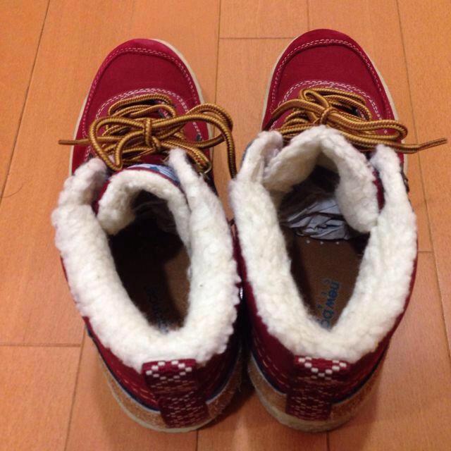 New Balance(ニューバランス)のニューバランス  赤スニーカー レディースの靴/シューズ(スニーカー)の商品写真