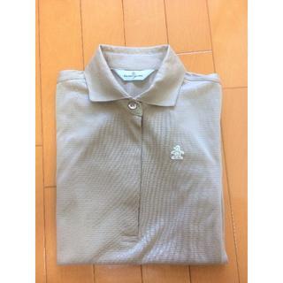マンシングウェア(Munsingwear)のマンシングウェア ゴールドベージュシャツ(ウエア)