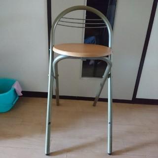 折りたたみ椅子(2セット)(折り畳みイス)
