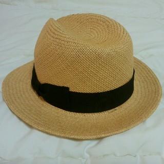 パナマハット(Panama Hat)のイタリア製パナマ帽(麦わら帽子/ストローハット)