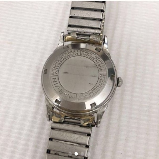 6395d429e1 スイス時計名門マーヴィンMarvin メンズ自動巻腕時計 稀少 ☆極上品 メンズの時計