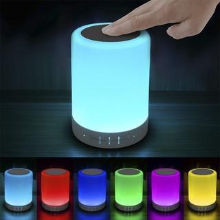LEDライト 卓上ランプ 6色切り替え Bluetoothスピーカー(その他)