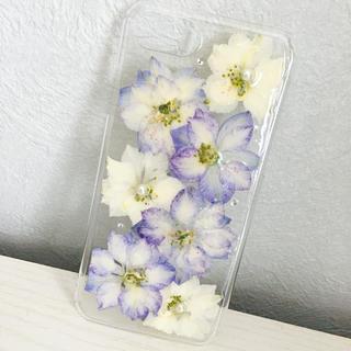 iPhone7/8 押し花ケース(スマホケース)
