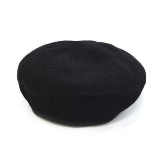 テンダーロイン(TENDERLOIN)のTROPHY CLOTHING トロフィークロージング ベレー帽 ブラック 黒(キャスケット)