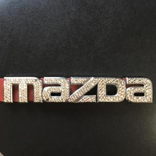 マツダ(マツダ)のマツダ MAZDA エンブレム スワロ DAD ギャルソン 好きに(車外アクセサリ)