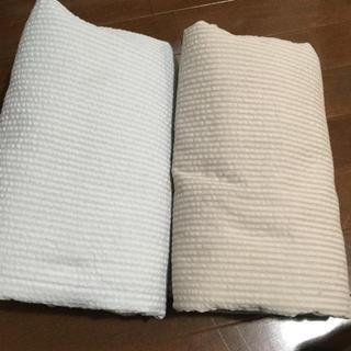 ムジルシリョウヒン(MUJI (無印良品))の無印良品 敷布団カバーセミダブル セット(シーツ/カバー)
