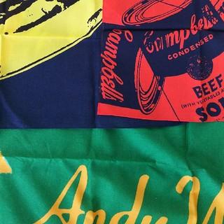 アンディウォーホル(Andy Warhol)のアンディ・ウォーホル ユニクロバンダナ(日用品/生活雑貨)