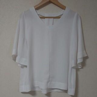 ジーユー(GU)のシフォンブラウス(シャツ/ブラウス(半袖/袖なし))