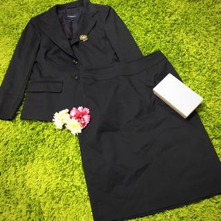 バーバリー(BURBERRY)の美品burberryバーバリー❤︎セットアップスーツ黒(スーツ)