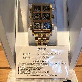アヴァランチ(AVALANCHE)のアバランチ アイスリンクice link 6月購入(腕時計(アナログ))