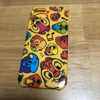 チップアンドデール(チップ&デール)のiPhone5/s カバーケース チップとデール ディズニー (iPhoneケース)